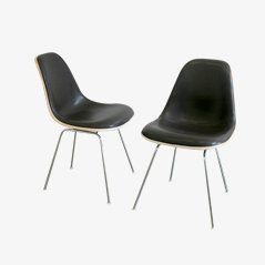 Brown DSX Chair by Charles & Ray Eames for Vitra