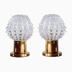 Table Lamps from Kamenický Šenov, 1960s, Set of 2