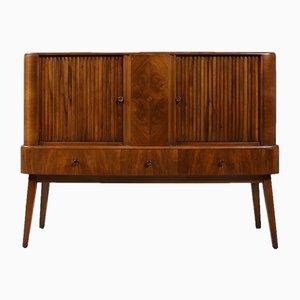 Vintage Walnuss Sideboard, 1950er