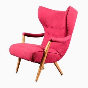 Mid-Century German Wing Chair