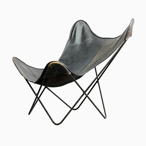 Vintage Butterfly Lounge Chair by Jorge Ferrari-Hardoy for Knoll Inc. / Knoll International