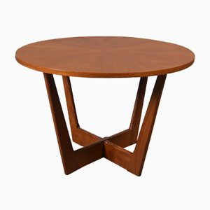 Mesa de centro danesa de teca de Georg Jenson para Kubus furniture, 1963