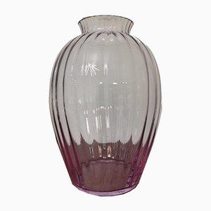 Vaso in vetro di Murano di Carlo Moretti, anni '90