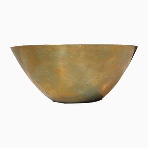 Brass Bowl by Arne Jacobsen for Stelton, 1960s
