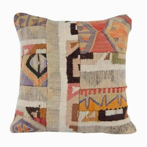 Turkish Embroidered Kilim Cushion Cover from Vintage Pillow Store Contemporary