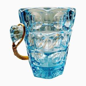 Sklo Union Ice Bucket by Rudolf Jurnikl for Rosice Glassworks, 1960s