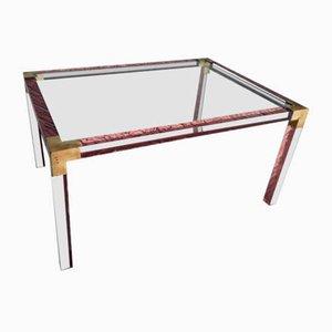 Table Basse en Plexiglas, 1960s