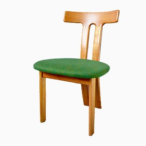 Scandinavian Sculpture Dining Chairs, 1960s, Set of 4