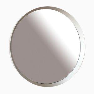 Scandinavian Round Mirror, 1960s