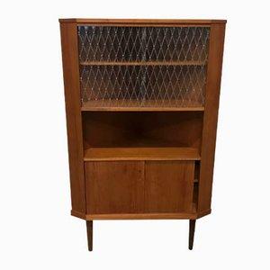 Danish Teak Corner Cabinet, 1960s