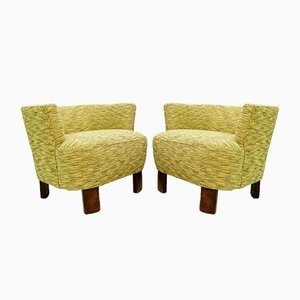 Mid-Century Hungarian Armchairs, Set of 2