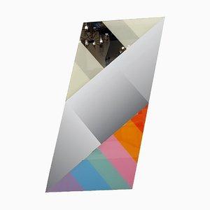 Espejo de pared de Eugenio Carmi para Acerbis International, años 80