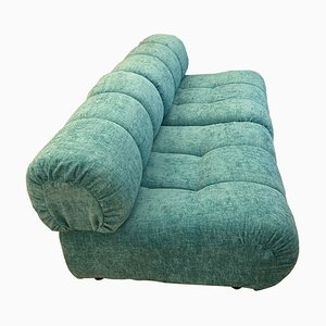 Mid-Century Green Lounge Chairs by Giuseppe Munari for Munari, Set of 2