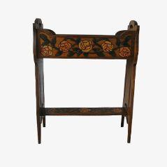 Art Nouveau Pflanzgefäß aus Holz