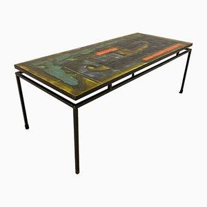 Tile Coffee Table by Juliette Belarti, 1960s