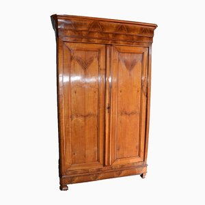 Large Antique Louis Philippe Cherry Cabinet