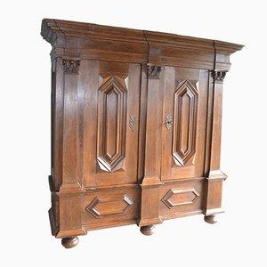 Mueble antiguo grande de roble