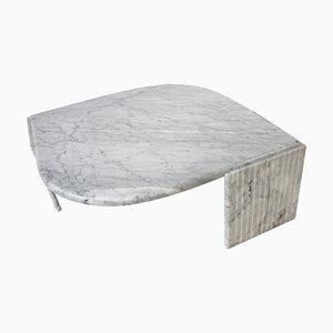 Mesa de centro italiana de mármol, años 70