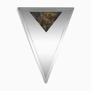 Art Deco Triangular Beveled Mirror