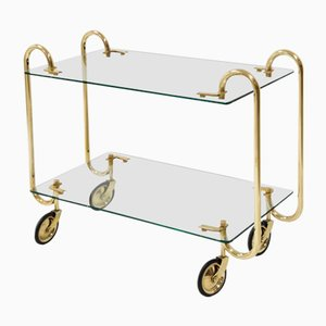 Vintage Trolley by Gio Ponti for Fontana Arte, 1930s