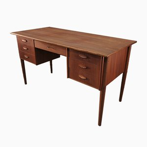 Scandinavian Teak Desk, 1950s