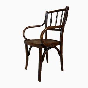 Chaise d'Enfant en Bois Courbé, années 20