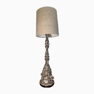 Vintage Keramik Stehlampe von Kaiser Idell / Kaiser Leuchten