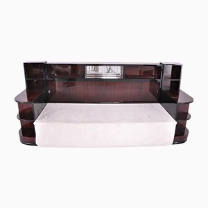 French Art Deco Rosewood Daybed Sofa, 1920s
