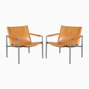 Niederländische Sessel von Martin Visser für t Spectrum, 1960er, 2er Set
