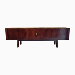 Rosewood & Tambour Sideboard by Arne Vodder for Sibast, 1960s