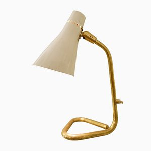 Brass & Lacquered Metal Cooker Lamp by Giuseppe Ostuni, 1950s