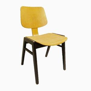 Chaise Empilable Vintage en Bois