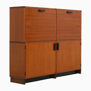 Mueble de teca de Cees Braakman para Pastoe, años 60