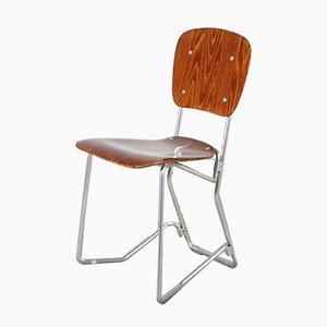Aluflex Folding Chair by Armin Wirth for Zollinger Sohre, 1950s