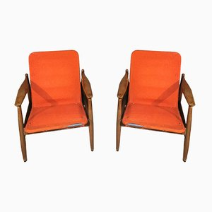 Armchairs from Pizzetti Roma, 1960s, Set of 2
