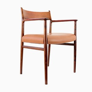 Rosewood Model 418B Armchair by Arne Vodder for Sibast, 1960s