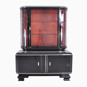 Art Deco Piano Lacquer Cupboard, 1930s