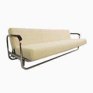 Vintage Chrom AA1 Sofa von Alvar Aalto für Misura Emme