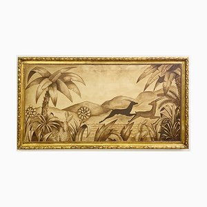 Óleo sobre lienzo de W. Vandenborre, años 30