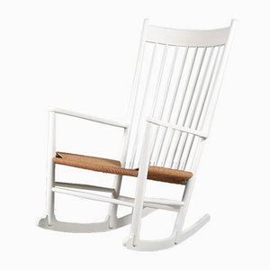 Danish Rocking Chair by Hans J. Wegner for FDB, 1960s