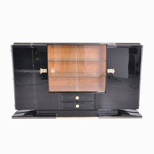 Art Deco Messing Sideboard, 1930er