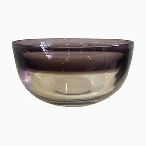 Glass Bowl by Timo Sarpaneva, 1970s