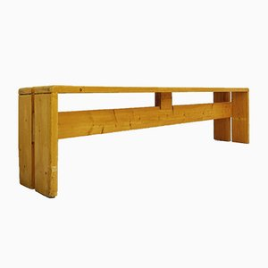 Pine Bench by Charlotte Perriand for Les Arc, 1960s