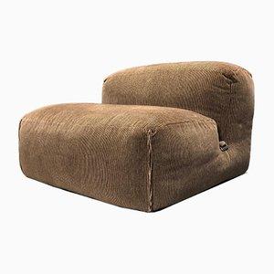 Velvet Le Mura Lounge Chair by Mario Bellini for Cassina, 1972