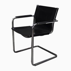 Bauhaus MG5 Armlehnstuhl von Mart Stam für Matteo Grassi, 1970er