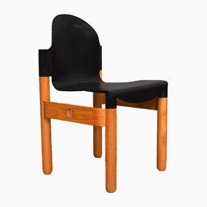 Chaise en Plastique et Bouleau par Gerd Lange pour Thonet, années 70
