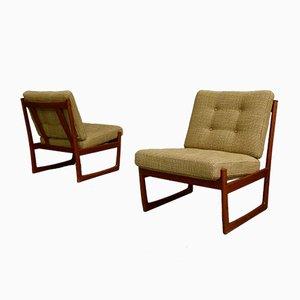 Dänische Teak Sessel von Hvidt & Mølgaard für France & Søn, 1960er, 2er Set