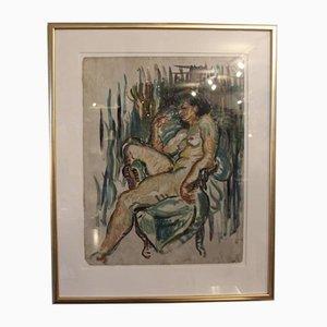 Französisches Ölgemälde, 1920er