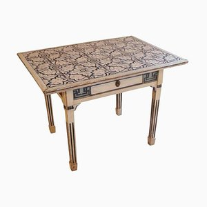 Danish Louis XVI Style Tile Side Table, 1780s