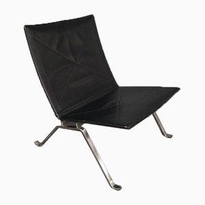 Leather PK22 Lounge Chair by Poul Kjærholm for Fritz Hansen, 2008